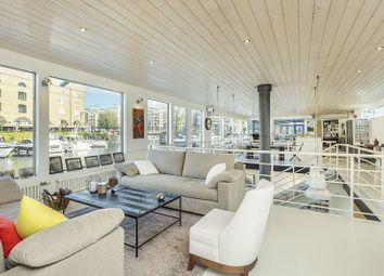 Thumbnail 5 bed houseboat for sale in St Katharine Docks Wapping, London