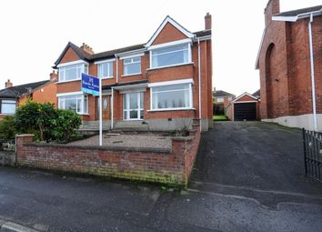 Thumbnail 3 bed semi-detached house for sale in Roddens Park, Belfast