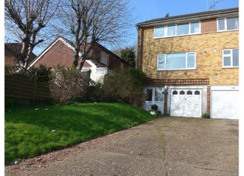 Thumbnail 3 bed terraced house for sale in Kings Road, Biggin Hill