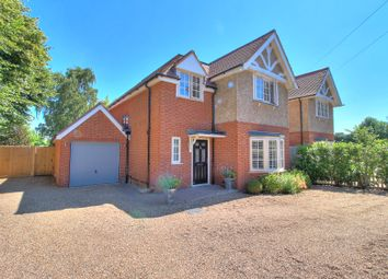 Thumbnail 4 bed detached house for sale in Sandhills Lane, Virginia Water