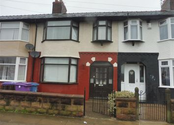 Thumbnail 3 bed property to rent in Eastcliffe Road, Stoneycroft, Liverpool