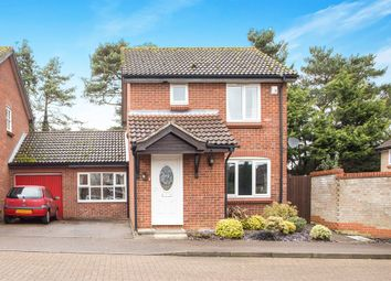 Thumbnail 3 bedroom link-detached house for sale in Hamilton Close, Swaffham