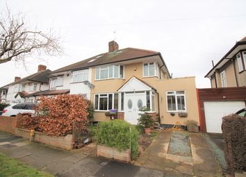 Thumbnail 4 bed semi-detached house for sale in Crosslands Avenue, Norwood Green