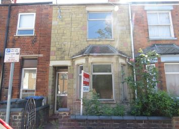 Thumbnail 3 bedroom terraced house for sale in Wood Street, Rugby
