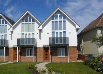 Thumbnail 3 bed town house to rent in Shore Close, Westover Road, Milford On Sea, Lymington