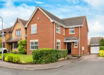Thumbnail 4 bed detached house for sale in Thomas Way, Royston