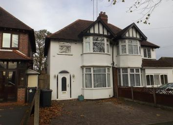 Thumbnail 3 bed semi-detached house for sale in Broughton Crescent, Birmingham, West Midlands