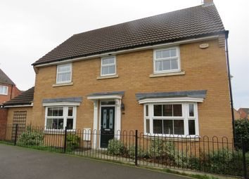 Thumbnail 4 bed detached house for sale in Bennett Road, Corby