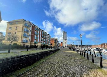 Thumbnail 2 bed flat for sale in Trawler Road, Maritime Quarter, Swansea
