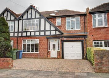 Thumbnail 4 bed semi-detached house for sale in The Avenue, Loansdean, Morpeth