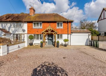 Thumbnail 4 bed semi-detached house for sale in Oak Hill, Wood Street Village, Guildford