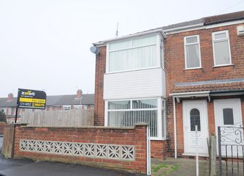 Thumbnail 3 bedroom end terrace house for sale in Eskdale Avenue, Hull