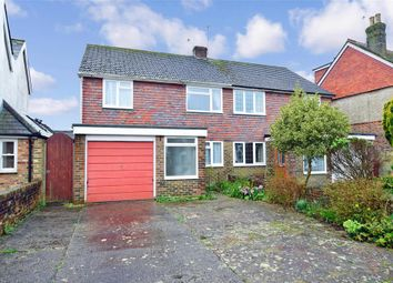 3 bed semi-detached house for sale in Highland Road, Chichester, West Sussex PO19