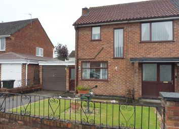 Thumbnail 3 bed semi-detached house for sale in Dunkirk Drive, Whitby, Ellesmere Port