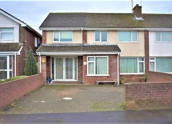 Thumbnail 5 bed semi-detached house for sale in Woodland Place, Bridgend