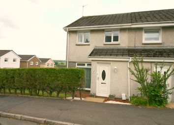 Thumbnail 3 bed semi-detached house for sale in Erskine Way, Shotts