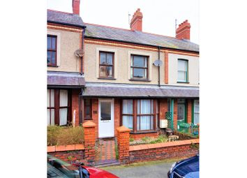 Thumbnail 4 bed terraced house for sale in Orme Road, Bangor