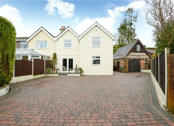 Thumbnail 4 bed semi-detached house for sale in Salisbury Road, Pimperne, Blandford Forum, Dorset
