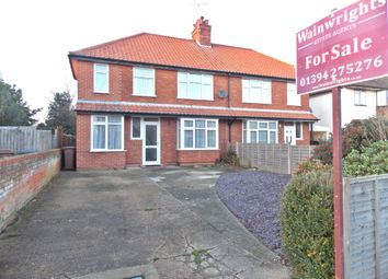 Thumbnail 4 bed semi-detached house for sale in Exeter Road, Felixstowe