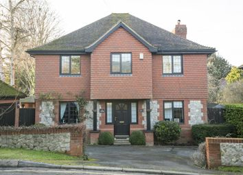 Thumbnail 4 bed detached house for sale in The Rocks Road, East Malling, West Malling