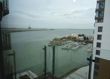 Thumbnail 1 bedroom flat to rent in West Tower, The Peninsula, Pearl Lane, Gillingham, Kent.