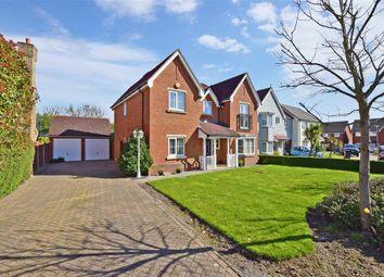 Thumbnail 4 bed detached house for sale in Pochard Crescent, Stillwater Park, Herne Bay, Kent