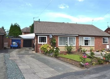 Thumbnail 2 bedroom semi-detached bungalow to rent in Sunningdale Grove, Chesterton, Newcastle-Under-Lyme