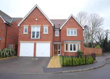 Thumbnail 5 bed detached house for sale in Girton Way, Mickleover, Derby