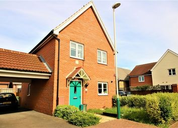 Thumbnail 3 bed detached house for sale in Le Noke Avenue, Romford, Essex