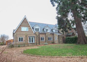 Thumbnail 4 bed detached house for sale in Suspension Bridge, Welney, Wisbech
