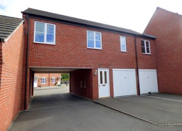 Thumbnail 2 bed semi-detached house to rent in Foss Road, Hilton, Derby