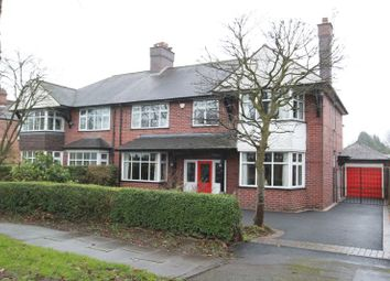 Thumbnail 4 bed semi-detached house for sale in Sneyd Avenue, Newcastle-Under-Lyme