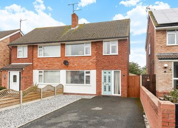 Thumbnail 3 bed semi-detached house for sale in Hewitt Avenue, Hereford