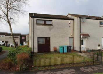 Thumbnail 2 bed end terrace house for sale in Woodhead Grove, Westfield, Cumbernauld, North Lanarkshire