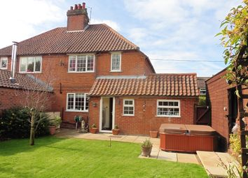 Thumbnail 3 bedroom semi-detached house for sale in Greenway Close, Fakenham
