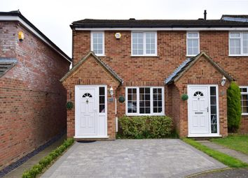 Thumbnail 3 bed end terrace house for sale in Harvest Ridge, Leybourne, Kent