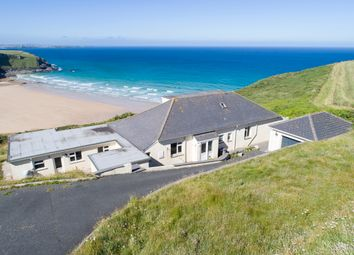 Thumbnail 4 bedroom detached bungalow for sale in Trenance, Mawgan Porth
