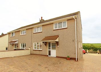 Thumbnail 2 bed semi-detached house for sale in 23 Motehill, Glenluce