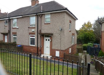 Thumbnail 2 bed semi-detached house to rent in Aughton Crescent, Sheffield