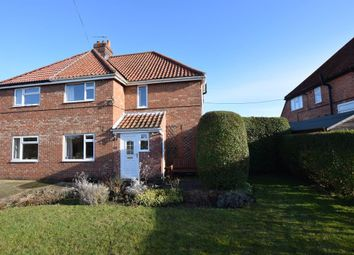 Thumbnail 3 bed semi-detached house for sale in Woodlands Road, Rillington, Malton