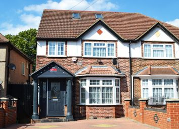 Thumbnail 4 bed semi-detached house for sale in West Way, Hounslow, Middlesex
