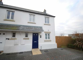 Thumbnail 2 bed semi-detached house to rent in Weeks Rise, Camelford, Cornwall