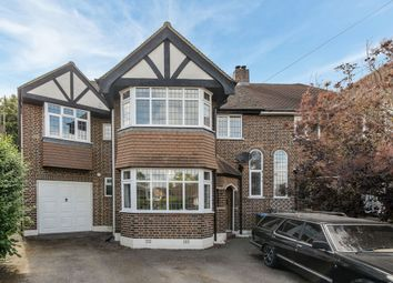 Thumbnail 5 bed semi-detached house for sale in Greenwood Close, Thames Ditton