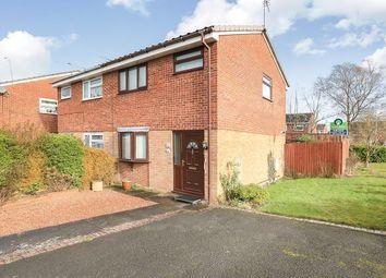 Thumbnail 2 bed semi-detached house to rent in Hamble Grove, Perton, Wolverhampton