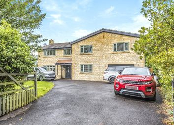 Thumbnail 5 bed detached house to rent in Church Road, Wanborough, Wiltshire