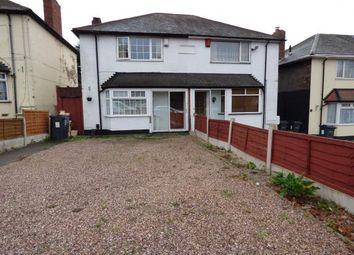 3 bed semi-detached house for sale in Burney Lane, Ward End, Birmingham, West Midlands B8