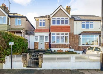 Thumbnail 3 bed end terrace house for sale in Fossil Road, London