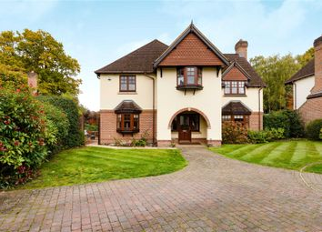 Thumbnail 5 bed detached house for sale in Hawley Grove, Blackwater, Camberley