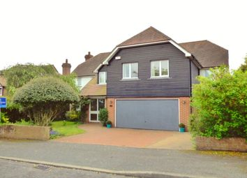 Thumbnail 5 bedroom detached house for sale in Wellfield Road, Folkestone