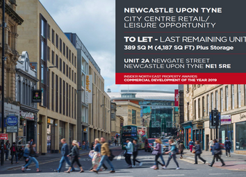 Thumbnail Leisure/hospitality to let in Newcastle Upon Tyne, Unit 2, Newgate Street